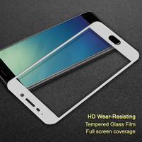 IMK celoplošné tvrzené sklo na Meizu M6 Note - bílý lem