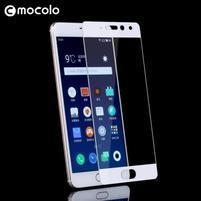 MLC celoplošné tvrzené sklo na Meizu Pro 7 - bílý lem