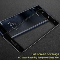 IFS celoplošné tvrzené sklo na Nokia 3 - černý lem