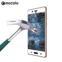 MLC celoplošné ochranné sklo na Nokia 8 - bílý lem