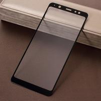Silk celoplošné tvrzené sklo na Samsung Galaxy A6+ (2018) - černé
