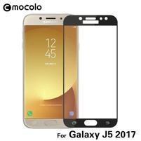 MCL celoplošné rámované tvrzené sklo na Samsung Galaxy J5 (2017) - černé