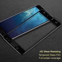 Celoplošné tvrzené sklo na displej Samsung Galaxy J7  (2017) - černý lem