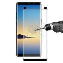 FXM4 celoplošné tvrzené sklo na displej  Samsung Galaxy Note 8 - černé