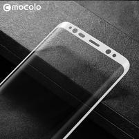 MLC celoplošné ochranné tvrzené sklo na Samsung Galaxy S8 Plus - bílé
