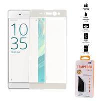Full celoplošné tvrzené sklo na Sony Xperia XA Ultra - bílý lem