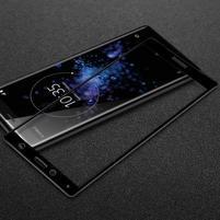 IMK celoplošné tvrzené sklo na Sony Xperia XZ2 Compact - černé