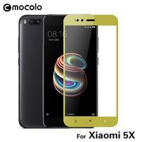 MCL celoplošné tvrzené sklo na Xiaomi Mi A1 - zlatý rámeček