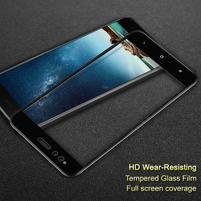 Celoplošné tvrzené sklo na mobil Xiaomi Mi A1 - černý lem