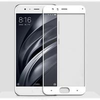 GX7 celoplošné tvrzené sklo pro Xiaomi Mi6 - bílý lem