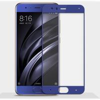 GX7 celoplošné tvrzené sklo pro Xiaomi Mi6 - modrý lem