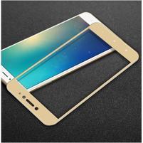 IMK celoplošné tvrzené sklo na displej Xiaomi Mi Max 2 - zlatý lem
