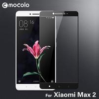 MLC celoplošné tvrzené sklo na Xiaomi Mi Max 2 - černý lem