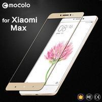 MLC celoplošné tvrzené sklo na Xiaomi Mi Max - zlatý lem