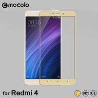 FKS celoplošné tvrzené sklo na Xiaomi Redmi 4 - zlaté
