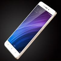FKS celoplošné tvrzené sklo na Xiaomi Redmi 4 - bílé
