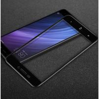 IMK celoplošné trvzené sklo na Xiaomi Redmi 4A - černé