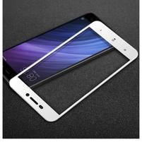IMK celoplošné trvzené sklo na Xiaomi Redmi 4A - bílé