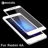 MLC celoplošné tvrzené sklo na Xiaomi Redmi 4A - bílé