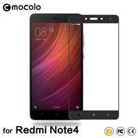 MLC celoplošné trvzené sklo na Xiaomi Redmi Note 4 - černý lem