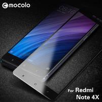 MLC celoplošné tvrzené sklo na Xiaomi Redmi Note 4X - černé