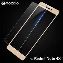 MLC celoplošné tvrzené sklo na Xiaomi Redmi Note 4X - zlaté