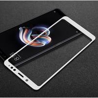 IMK celoplošné tvrzené sklo na Xiaomi Redmi Note 5 - bílé
