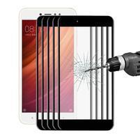 Celoplošné ochranné tvrzené sklo na Xiaomi Redmi Note 5A - černé