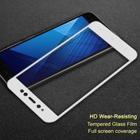 IMK celoplošné tvrzené sklo na Xiaomi Redmi Note 5A Prime - bílý lem