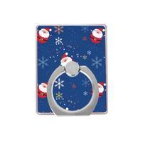 Santa držáček na prst na mobilní telefony - modrý