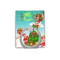 Vánoční držáček na prst na mobilní telefony - Santa II