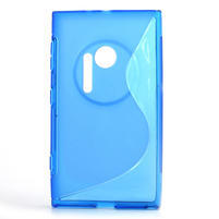 Gelové S-line pouzdro pro Nokia Lumia 1020- modré