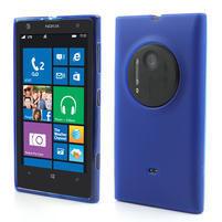 Gelové matné pouzdro pro Nokia Lumia 1020- modré