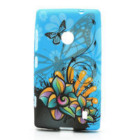 Gelové pouzdro na Nokia Lumia 520- motýl