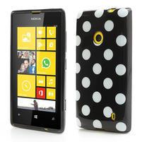 Gelové PUNTÍK pouzdro na Nokia Lumia 520- černé