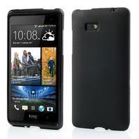 Gelové matné pouzdro pro HTC Desire 600- černé