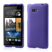 Gelové matné pouzdro pro HTC Desire 600- fialové