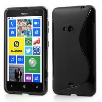 Gelové S-line pouzdro pro Nokia Lumia 625- černé