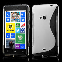Gelové S-line pouzdro pro Nokia Lumia 625- transparentní