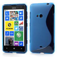 Gelové S-line pouzdro pro Nokia Lumia 625- modré