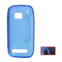 Gelové S-line pouzdro pro Nokia Lumia 710- modré