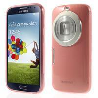 Gelové Ultraslim pouzdro na Samsung Galaxy K Zoom- červené