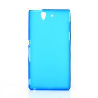 Gelové pouzdro na Sony Xperia Z L36i C6603- modré