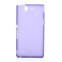 Gelové pouzdro na Sony Xperia Z L36i C6603- fialové