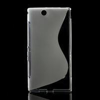 Gelove S-line pouzdro na Sony Xperia Z ultra- transparentní