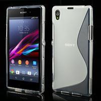 Gelové S-line pouzdro na Sony Xperia Z1 C6903 L39- transparentní