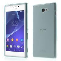 Gelové Ultraslim pouzdro na Sony Xperia M2 D2302- světlemodré