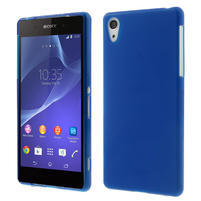 Gelové matné pouzdro na Sony Xperia Z2 D6503- modré