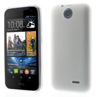 Gelové pouzdro na HTC Desire 310- bílé