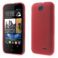 Gelové pouzdro na HTC Desire 310- červené